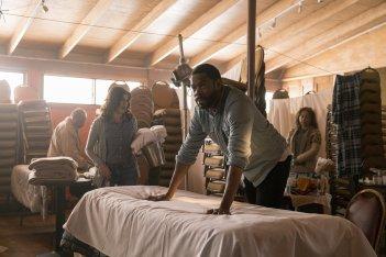 Fear the Walking Dead: Colman Domingo in una scena corale