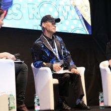 Romics 2017: Yoshiyuki Tomino durante l'incontro a lui dedicato