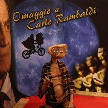 Romics 2017: uno scatto di E.T. alla mostra dedicata a Carlo Rambaldi