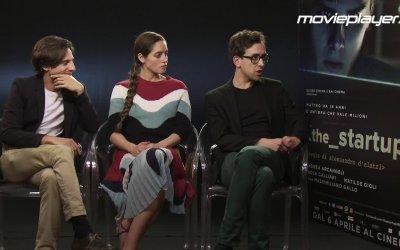The Startup: Video intervista a Matilde Gioli, Matteo Leoni e Luca Di Giovanni