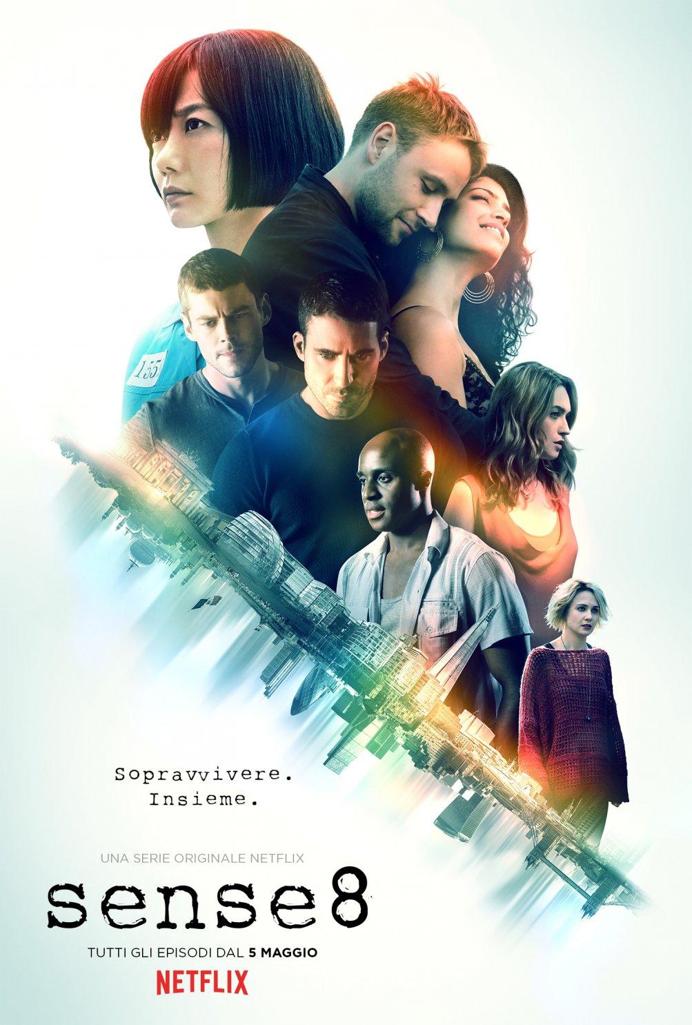 Sense8 - locandina della stagione 2