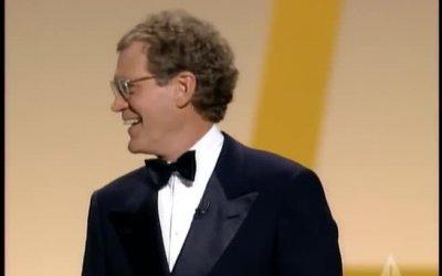 David Letterman presenta gli Oscar nel 1995