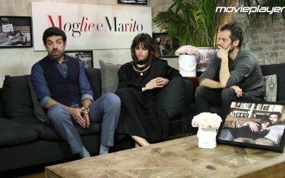 Moglie e marito: video intervista a Pierfrancesco Favino e Kasia Smutniak