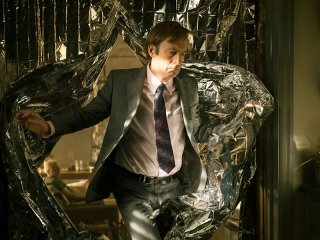 Better Call Saul 3: Bob Odenkirk in una scena della premiere della nuova stagione