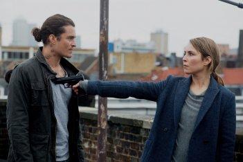 Codice Unlocked - Londra sotto attacco: Noomi Rapace e Orlando Bloom in una scena del film