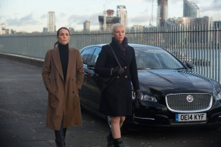 Codice Unlocked - Londra sotto attacco: Noomi Rapace e Toni Collette in una scena del film