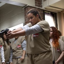 Orange Is The New Black: Dasha Polanco in una foto della quinta stagione