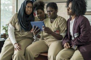 Orange Is The New Black: una foto di Vicky Jeudy, Adrienne C. Moore, Danielle Brooks, e Amanda Stephen