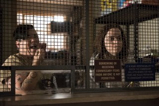 Orange Is The New Black: una foto delle attrici Lea DeLaria e Taryn Manning