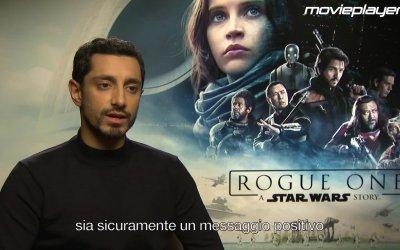 Rogue One: videointervista a Riz Ahmed