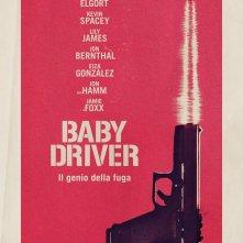 Locandina di Baby Driver - Il genio della truffa
