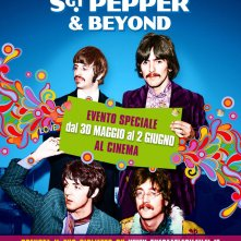 Locandina di The Beatles: Sgt. Pepper and Beyond