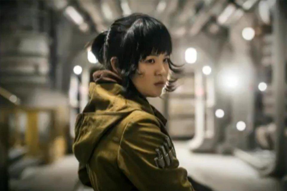 Star Wars: Gli ultimi Jedi - Kelly Marie Tran interpreta Rose