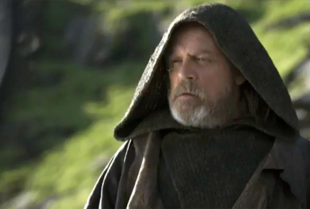 Star Wars: Gli ultimi Jedi - Mark Hamill in una foto del film
