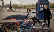 Doctor Who: una spettacolare street art in 3D per celebrare il ritorno della serie