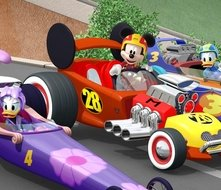 Topolino e Gli Amici del Rally: una scena della serie