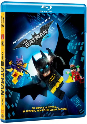Il blu-ray di Lego Batman - Il film