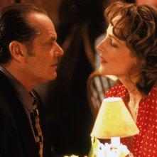 Qualcosa è cambiato: Jack Nicholson ed Helen Hunt in una scena del film