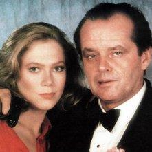 L'onore dei Prizzi: Jack Nicholson e Kathleen Turner in un'immagine promozionale del film