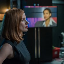 Miss Sloane: Jessica Chastain in una scena del film