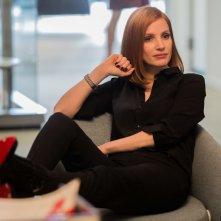 Miss Sloane: Jessica Chastain in un momento del film