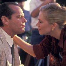 L'onore dei Prizzi: Jack Nicholson e Kathleen Turner in una scena del film