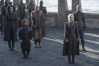 Il Trono di Spade: Peter Dinklage ed Emilia Clarke in una foto