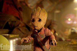 Guardiani della Galassia Vol. 2: una foto di Baby Groot