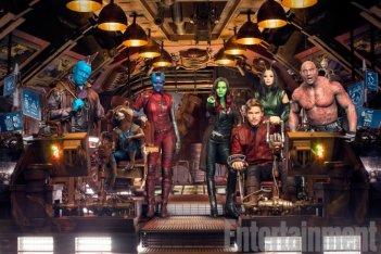 Guardiani della Galassia Vol. 2: una foto dei protagonisti