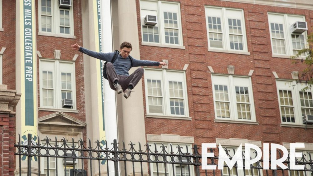 Spider-Man: Homecoming, Tom Holland in una nuova foto del film