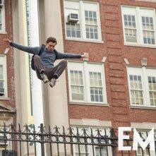 Spider-Man: Homecoming, Tom Holland in una nuova foto del film