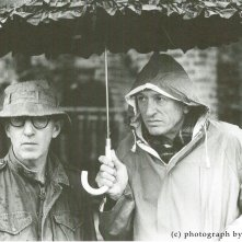 Acqua e Zucchero - Carlo di Palma: I colori della vita, Di Palma e Woody Allen in un'immagine del documentario