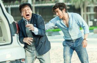 Kung Fu Yoga: Jackie Chan e Aarif Rahman in una scena del film