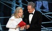 """Oscar 2017, Faye Dunaway dopo l'errore: """"Mi sento ancora in colpa"""""""