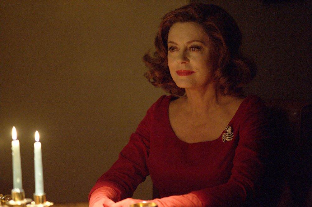 Feud: una scena della prima stagione con Susan Sarandon