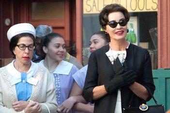 Feud: un'immagine della prima stagione con Jessica Lange