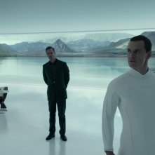 Alien: Covenant, una foto di Michael Fassbender