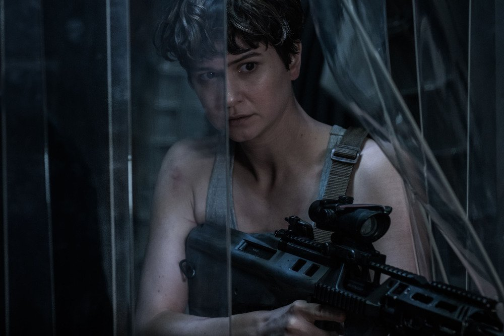 Alien: Covenant, Katherine Waterston in una foto del film