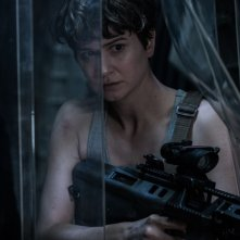 Alien: Covenant, Katherine Waterston in una foto del film