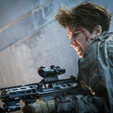 Alien: Covenant, Katherine Waterston in un momento del film