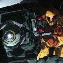 Mobile Suite Gundam Thunderbolt: December Sky, una scena del film animato