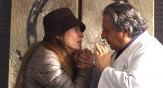 Qualcosa di troppo: Audrey Dana e Christian Clavier in un momento del film