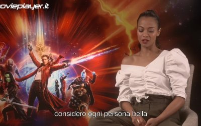 Guardiani della Galassia Vol. 2: Videointervista a Zoe Saldana