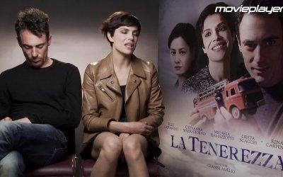 La tenerezza - videointervista ad Elio Germano e Michaela Ramazzotti