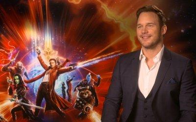 """Guardiani della Galassia 2, Chris Pratt: """"Vorrei essere onesto come Drax, ma sono troppo gentile"""""""