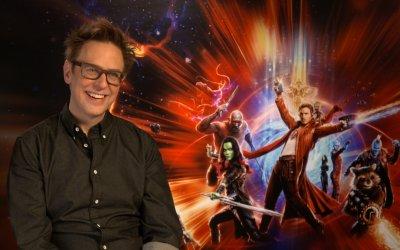 """James Gunn: """"Guardiani della Galassia parla di noi: credo che il film racconti le famiglie di tutti"""""""