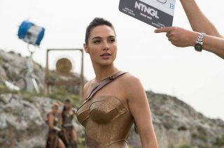 Wonder Woman: Gal Gadot sul set