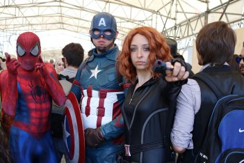 Comicon 2017: cosplayer Marvel