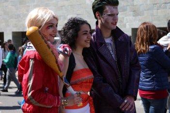 Comicon 2017: Harley, Joker e Vaiana