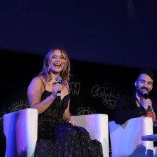 Comicon 2017: Rachel Keller sorridente alla manifestazione